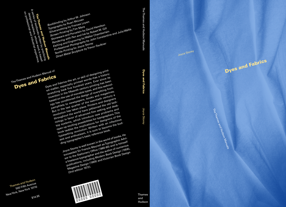 Book cover design for Thames and Hudson Manuals by Airstrike Quintet
