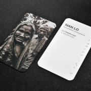Business Card design for Ivan Lo, Humanitarian Photographer by Airstrike Quintet