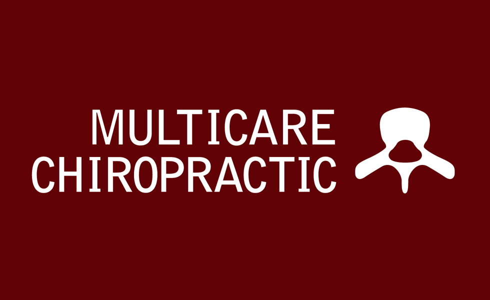 Logo and identity for Multicare Chiropractic by Airstrike Quintet