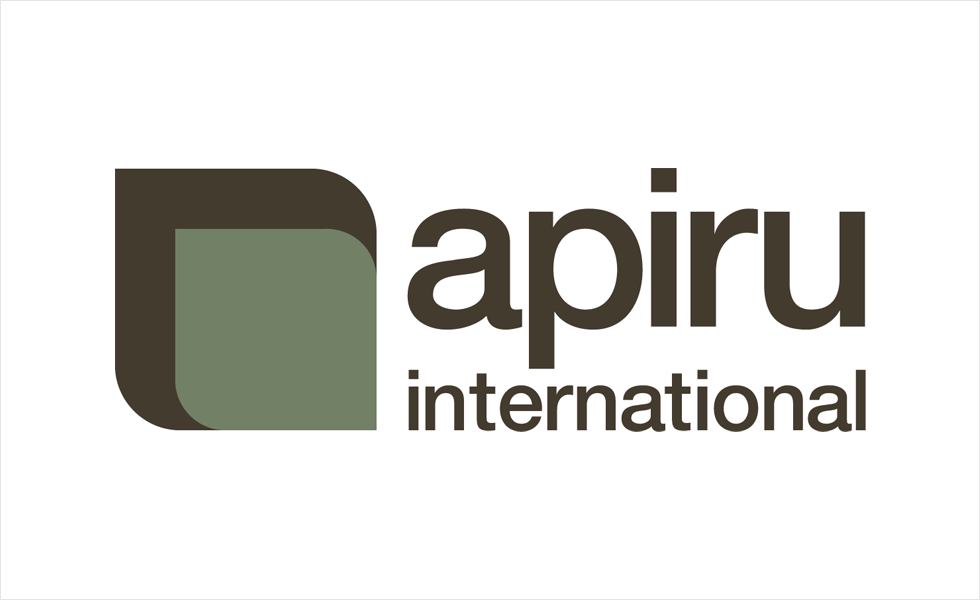 Logo and identity design for Apiru International by Airstrike Quintet