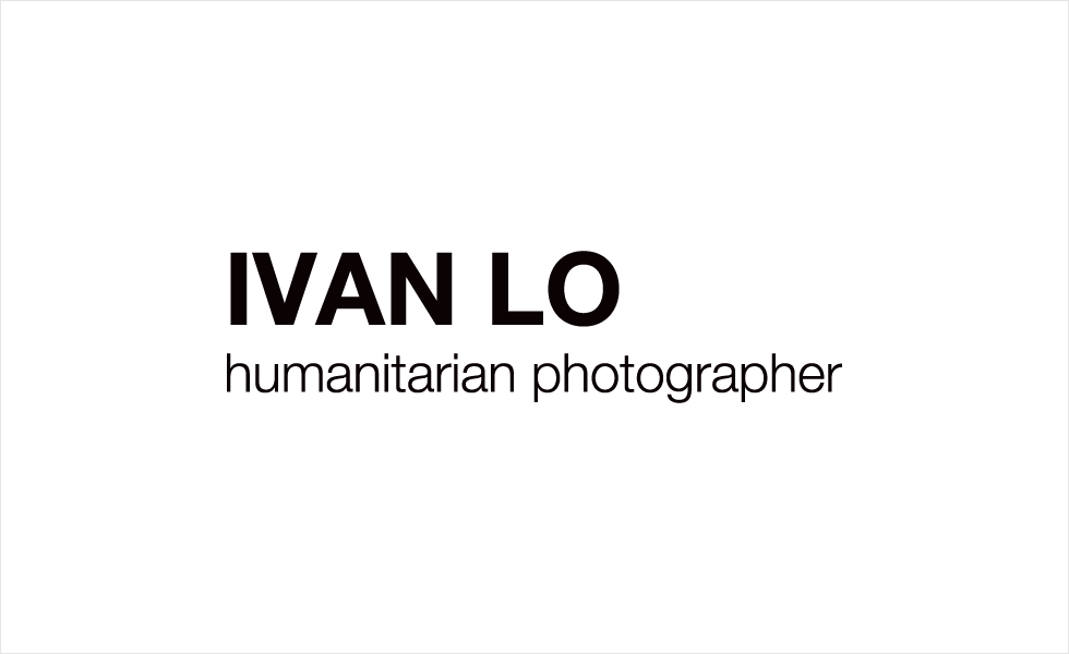 Logo and Identity design for Ivan Lo, Humanitarian Photographer by Airstrike Quintet