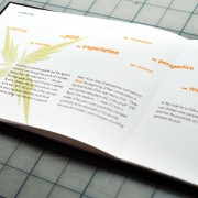 Book layout design for Invisible Cities by Airstrike Quintet