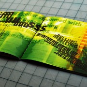 Layout design for Muddled Tones by Airstrike Quintet