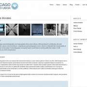 Website design and development for Chicago Photo Union by Airstrike Quintet