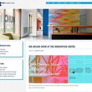 Website design and construction for the UIC Innovation Center by Airstrike Quintet